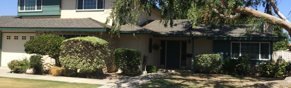 $1550-3313 Elm St., Bakersfield, CA 93301 Central Bakersfield Home for rent