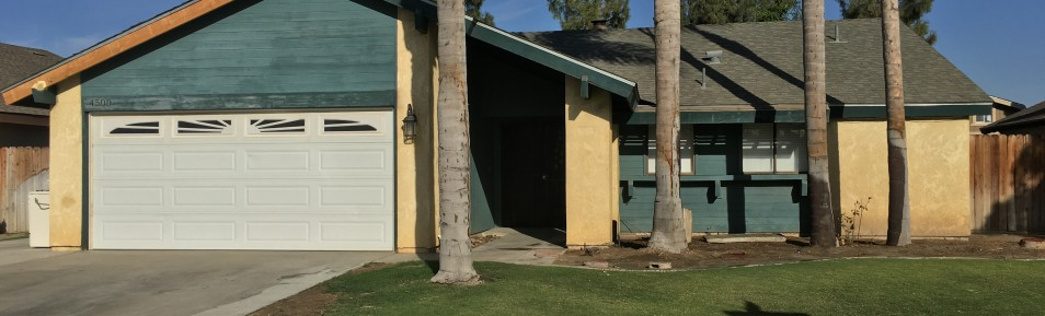 $1195-4500 Trumbull Dr. Bakersfield, CA 93311 southwest home for rent