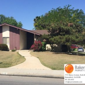 $1295 – 513 Montclair St., Bakersfield, CA 93309 Central Home For Rent!
